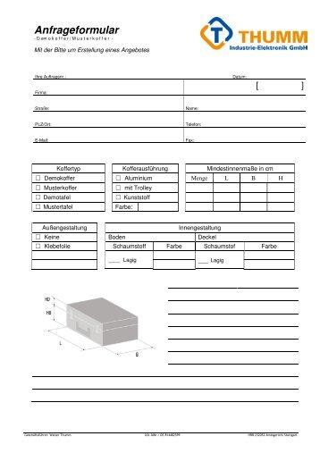 Factoring Anfrageformular - ERNST factoring GmbH