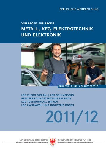 metall, kfz, elektrotechnik und elektronik - info-metall.it