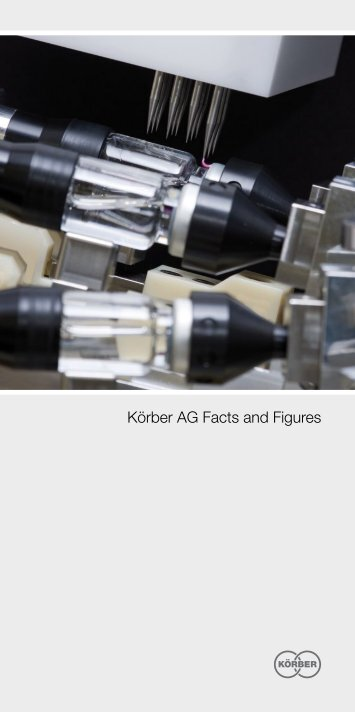 Körber AG Facts and Figures