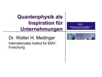 Quantenphysik ist... - Vannsymposium