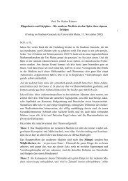 Prof. Dr. Walter Krämer Hippokrates und ... - Studium generale