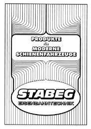 Product folder (overview) - Stabeg
