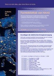 Seminar 9 - Arbeitssicherheit - HAAG Elektronische Messgeräte GmbH