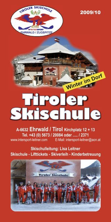 in im Dorf W ter - Hotel Tirolerhof
