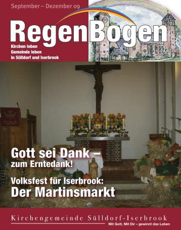 Gott sei Dank - in der Kirchengemeinde Sülldorf-Iserbrook