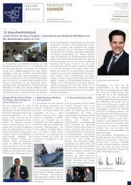 RMI Newsletter III 2010 - Region Rostock Marketing Initiative e.V.