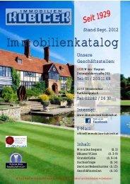 Immobilienkatalog - Immobilien Kubicek Homepage