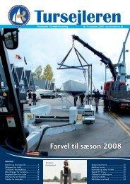 Farvel til sæson 2008 - Danske Tursejlere