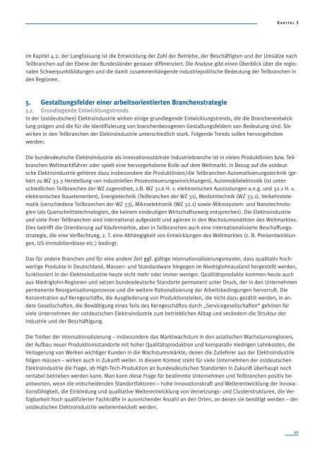 Die Elektroindustrie in Ostdeutschland - Otto Brenner Shop