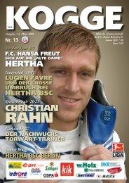 Hertha - FC Hansa Rostock