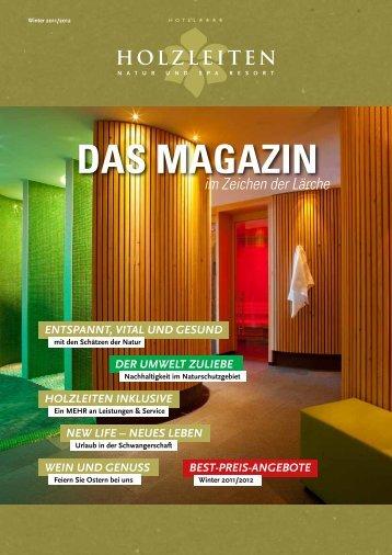 Das Magazin - Winter 2011/2012 - Hotel Holzleiten