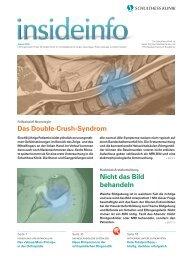 Das Double-Crush-Syndrom Nicht das Bild ... - Schulthess Klinik