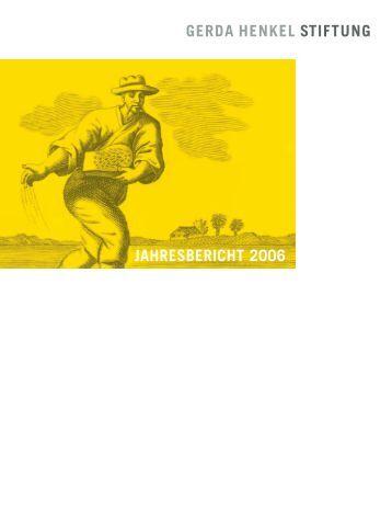 geförderte publikationen im jahr 2006 - Gerda Henkel Stiftung