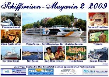 Klicken Sie hier um die gesamte Ausgabe als - Schiffsreisen Magazin