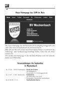 Vereinszeitung des Sportverein Mackenbach ... - SV Mackenbach - Seite 7