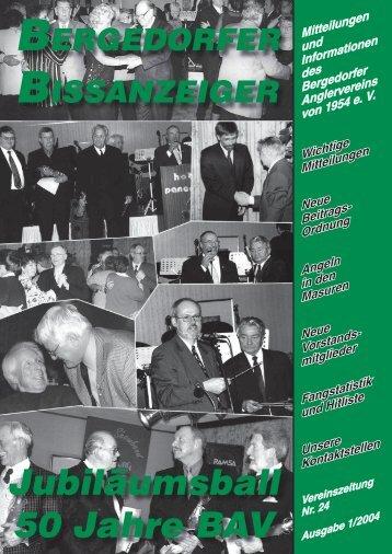 Jubiläumsball 50 Jahre BAV - Bergedorfer Anglerverein