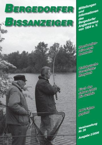 Ausgabe 2/2006 - Bergedorfer Anglerverein