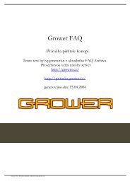 Grower FAQ