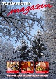 gehts zur aktuellen Ausgabe des Tarmstedter Magazins