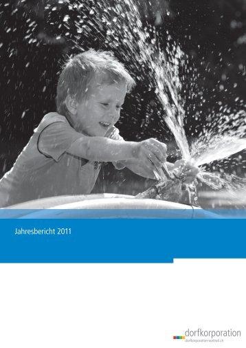 Jahresbericht 2011 Dorfkorporation Wattwil - Thurwerke AG