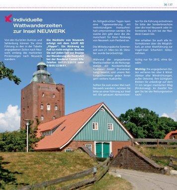 Wattwandern nach Neuwerk - Nordseeheilbad Cuxhaven