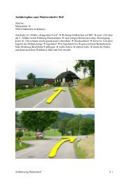 Anfahrtsplan zum Mattersdorfer Hof