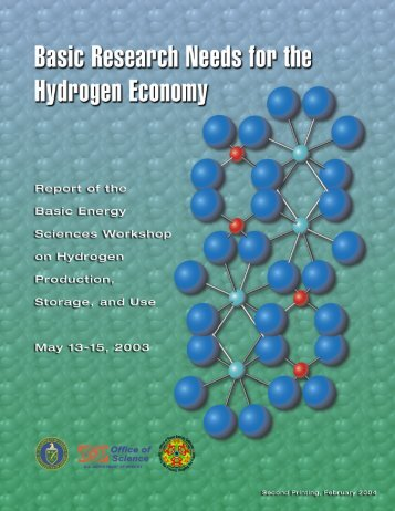 Basic Research Needs for the Hydrogen Economy - Pennsylvania ...