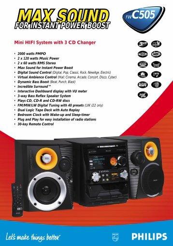 FW-C505/19 - Philips