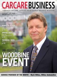 Uni-Select's Woodbine Event - industry news - Autosphere