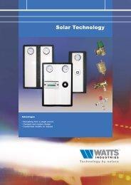 Solar Technology - Watts Industries