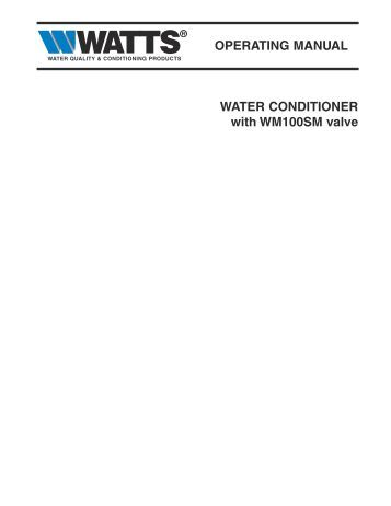 water right impression series manual