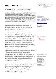 Facebook Leverkusen - überraschend anders - PresseBox