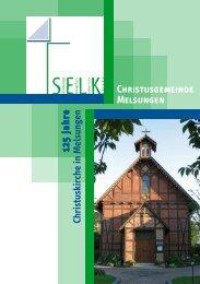 Christusgemeinde Melsungen 125 Jahre Christuskirche in Melsungen