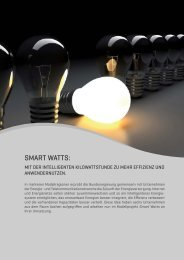 SMART WATTS: - Utilicount GmbH & Co. KG