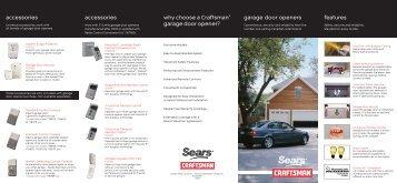 garage door openers buying guide - Sears Canada