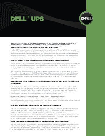 DELL™ UPS