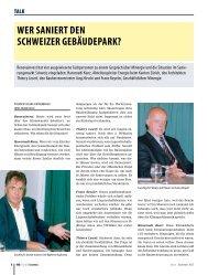 wer saniert den schweizer gebäudepark? - LESERF Architekten, Bern