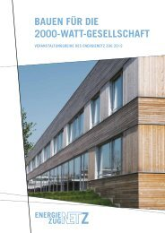 Bauen für die 2000-Watt-Gesellschaft - aardeplan