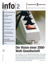 Die Vision einer 2000- Watt-Gesellschaft - Handelskammer beider ...