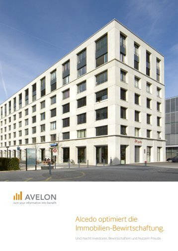 Alcedo optimiert die Immobilien-Bewirtschaftung. - Alcedo - Avelon