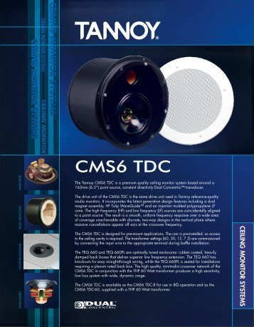 ceiling monitor systems - All Pro Sound