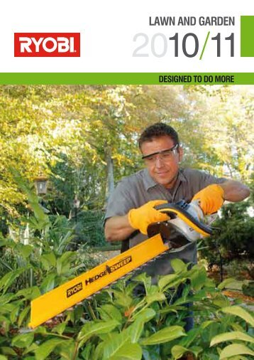 LAWN AND GARDEN - Tooled-Up.com