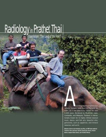 Radiology Prathet Thai - Mallinckrodt Institute of Radiology