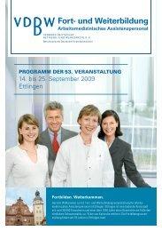 Fort - Verband Deutscher Betriebs- und Werksärzte e.V.
