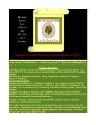 Informations around Organic Farming, Thailand and ... - farmersvoice