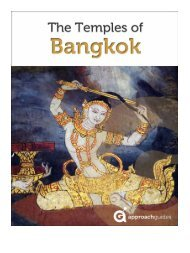 The Temples of Bangkok - Approach Guides