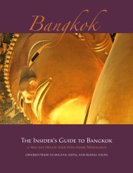 The Insider's Guide to Bangkok - Himalayan Odyssey