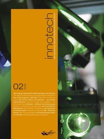 Zukunft Ist die Polysaccharid?* *Po - Innovationspark Wuhlheide ...