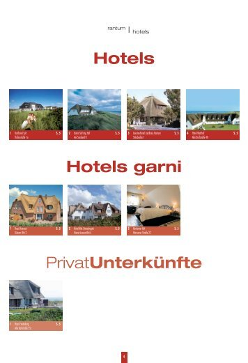 Hotels - Sylt