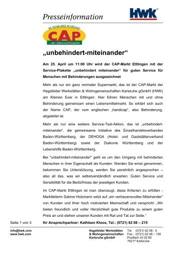 Presseinformation - LifePR.de